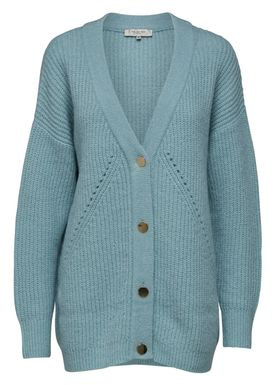 Selected Femme - Cardigan - Minty Knit Cardigan - Gray Mist
