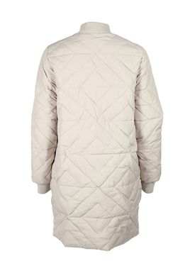 Selected Femme - Frakke - Olivia Long Down Jacket - Gray Morn (Light Beige)