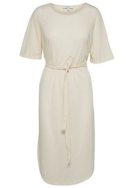 Selected Femme - Kjole - Ivy Beach Dress w. Belt - Birch