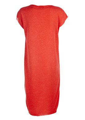 Selected Femme - Kjole - Ivy Knee Dress - Flame Scarlet (Rød)