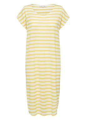 Selected Femme - Klänning - Ivy Knee Dress SS18 - Solar Power/Snow White