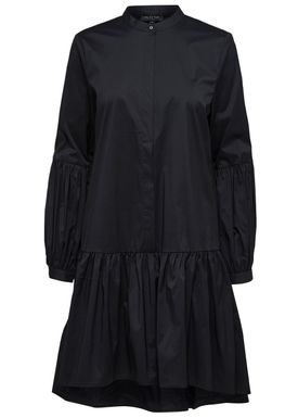 Selected Femme - Kjole - Lolani Shirt Dress - Black