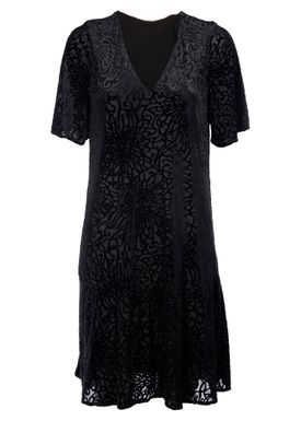Selected Femme - Kjole - Mila Swing Dress - Black