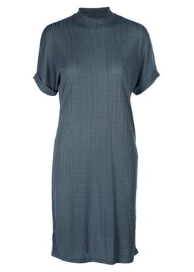 Selected Femme - Dress - Ranja Highneck Dress - Orion Blue