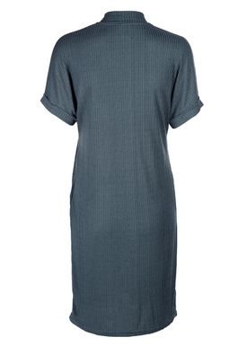 Selected Femme - Kjole - Ranja Highneck Dress - Orion Blue