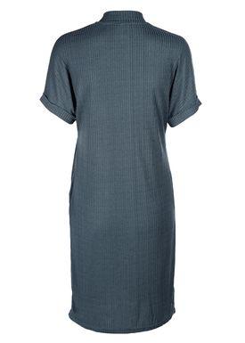 Selected Femme - Kjole - Ranja Highneck Dress - Orion Blue