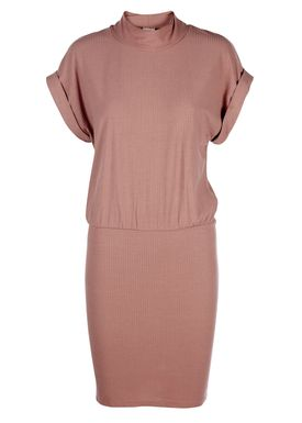 Selected Femme - Kjole - Rasti Dress - Støvet Pink (Burlwood)