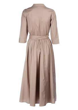 Selected Femme - Dress - Sabina 3/4 Dress - Silver Mink (Beige)