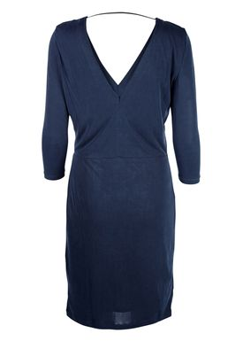 Selected Femme - Dress - Sasha 3/4 Sleeve - Dusty Blue