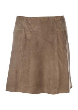 Selected Femme - Nederdel - Bobi Skirt - Light Beige