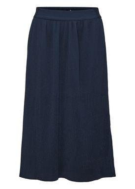 Selected Femme - Nederdel - Sevince Midi Skirt - Dark Sapphire