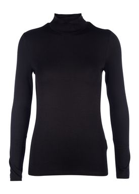 Selected Femme - Rullekrave - Mio Highneck - Sort