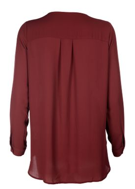 Selected Femme - Shirt - Dynella Classic - Syrah (Bordeaux)