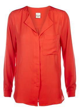Selected Femme - Skjorte - Dynella - Flame Scarlet (Rød)