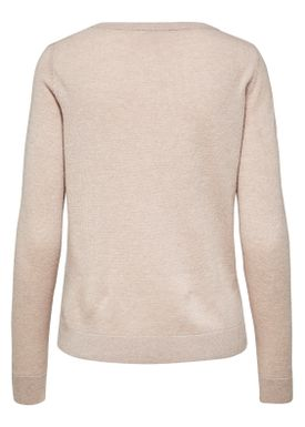 Selected Femme - Knit - Aya Cashmere Knit - Adobe Rose