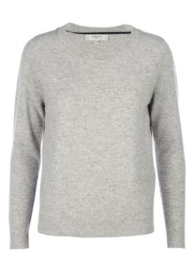 Selected Femme - Knit - Aya Cashmere Knit - Light Grey