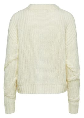 Selected Femme - Strik - Gina Knit  - Birch