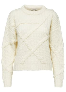 Selected Femme - Knit - Gina Knit  - Birch