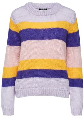 Selected Femme - Strik - Sila Knit O Neck - Pastel Lilac