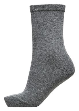 Selected Femme - Socks - Bobby Classic - Grey Melange