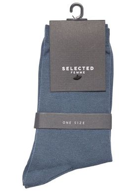 Selected Femme - Socks - Bobby Classic - Orion Blue
