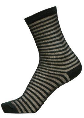 Selected Femme - Socks - Vida Sock - Scarab Stripe