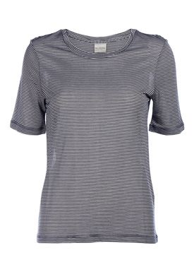Selected Femme - T-shirt - Sydney Tee - White/Navy Stripes