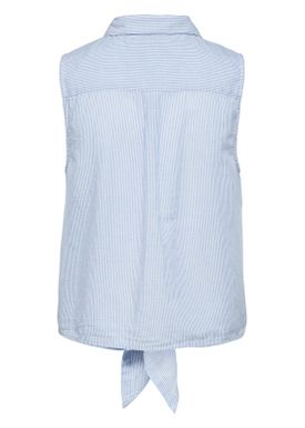 Selected Femme - Top - Tania Shirt Top - Light Blue Stripes
