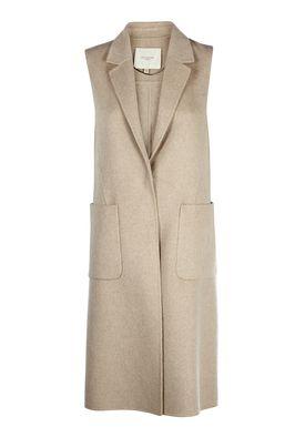 Selected Femme - Vest - Alice Waistcoat - Beige Melange
