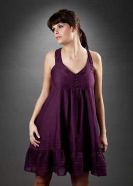 Sessún - Dress - Gisele - Purple