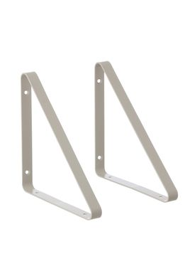 Ferm Living - Shelf - Shelf Hangers - Grey