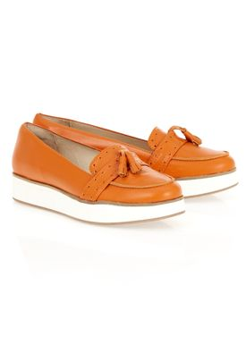 Norah Loafers Orange