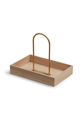 Skagerak - Tray - Norr Carrier - Oak/Brass