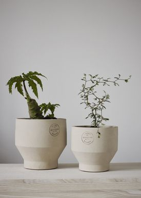 Skagerak - Jar - Edge Pot - Sierra Yellow / Ø15xH15 / Indoor