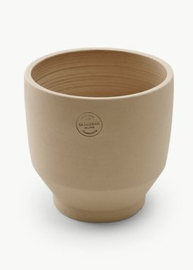 Skagerak - Jar - Edge Pot - Sierra Yellow / Ø25xH24 / Outdoor