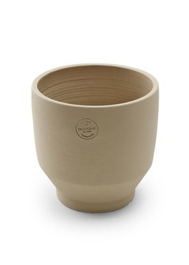 Skagerak - Jar - Edge Pot - Sierra Yellow / Ø18xH18 / Outdoor