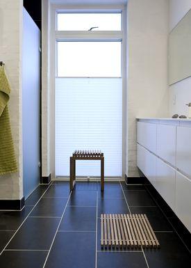 Skagerak - Måtte - Bathroom mat - Teak / Stainless Steel
