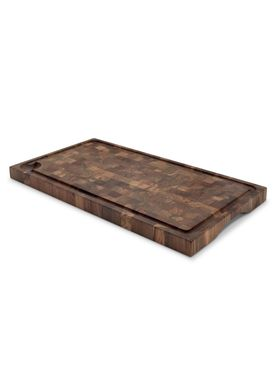 Skagerak - Cutting Board - Cutting Board Teak - Teak / Oil / Endgrain