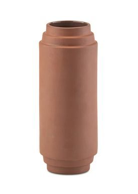 Skagerak - Vase - Edge Vase - Burned Red / Large