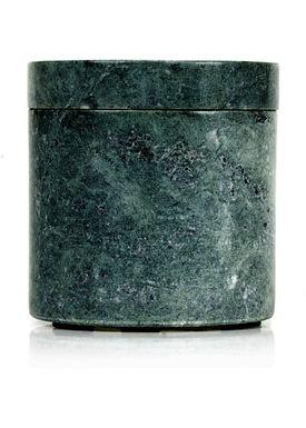 Nordstjerne - Jar - Small Marble Canister - Green Marble