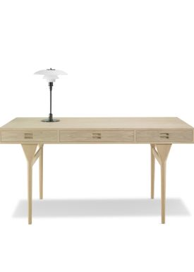 Snedkergaarden - Skrivebord - ND93 Skrivebord - Oak 3 Drawers