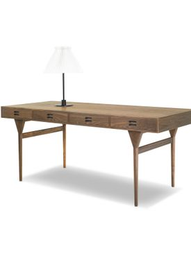 Snedkergaarden - Desk - ND93 Skrivebord - Walnut 4 Drawers