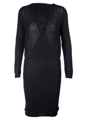 Stig P - Kjole - Evie Knit Dress - Black