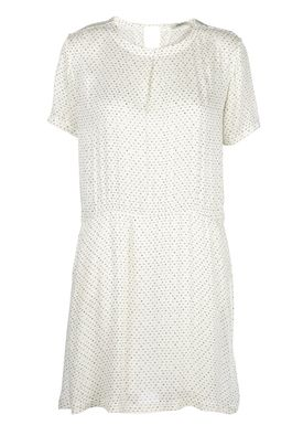 Stig P - Dress - Liv Dress - Offwhite/Black Pattern