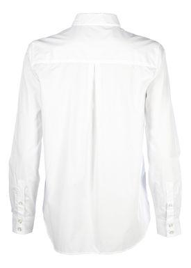 Stig P - Skjorte - Cleo Basic Work Shirt - Hvid