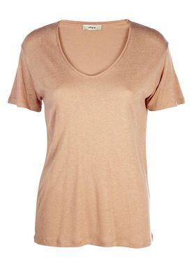 Stig P - T-shirt - Antonie Tee - Nougat
