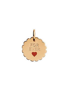 Stine A - Pendant - For Ever Pendant - Gold