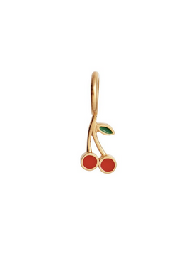 Stine A - Vedhæng - Petit Cherry Pendant - Gold