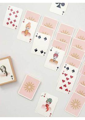 - Tændstikker - Spillekort - 52 kort + 3 jokere