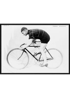The Dybdahl Co - Poster - Man and bicycle III #9901 - Man and bicycle